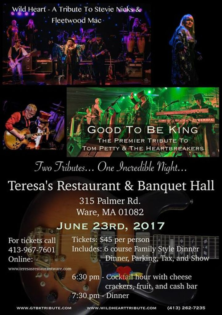 Good To Be King - A Tribute To Tom Petty & The Heartbreakers Tour Dates