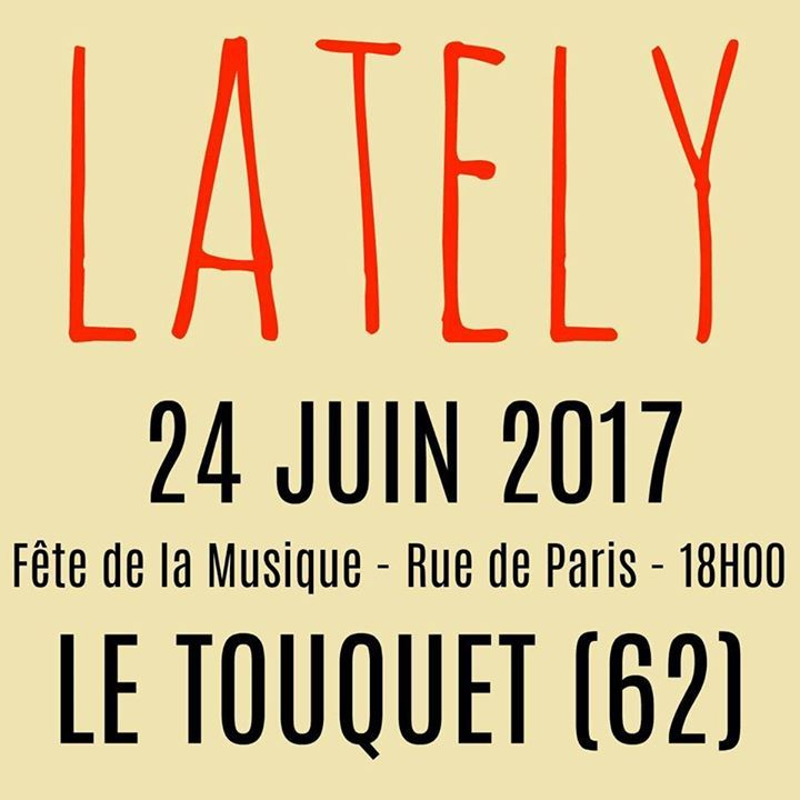LATELY - Page Officielle Tour Dates