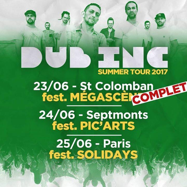 Dub Inc @ ZENITH - Saint-Étienne, France
