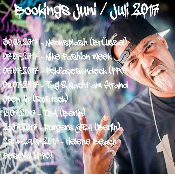 Niggi Noize Tour Dates
