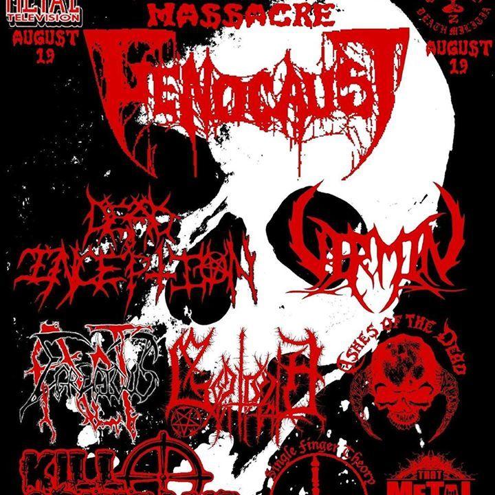 Dead Inception Tour Dates