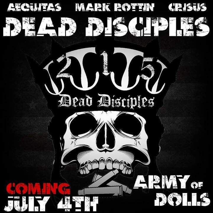 Dead Disciples Tour Dates