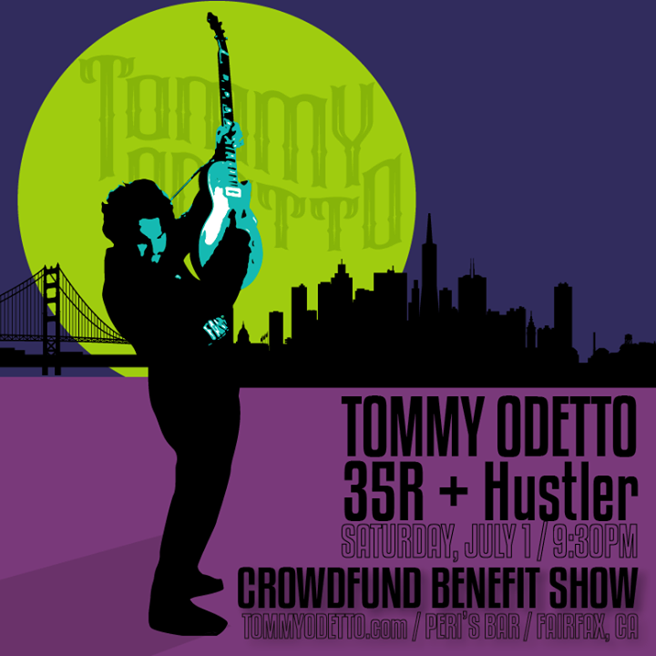 Tommy Odetto Tour Dates