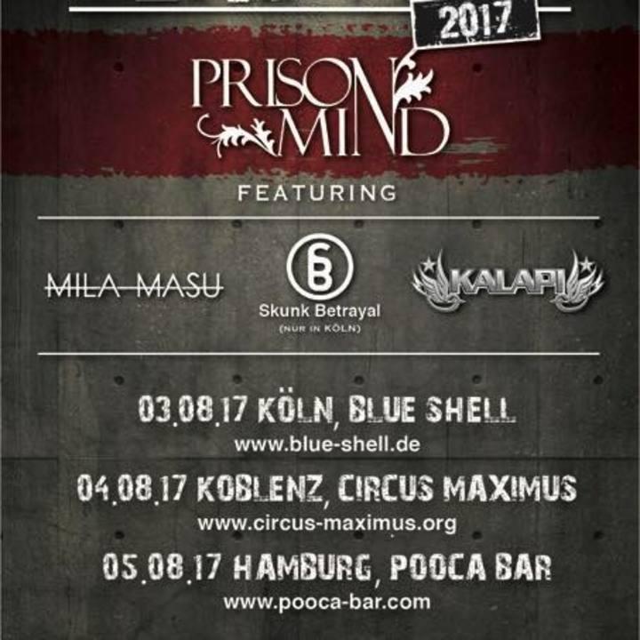 Prison Mind Tour Dates
