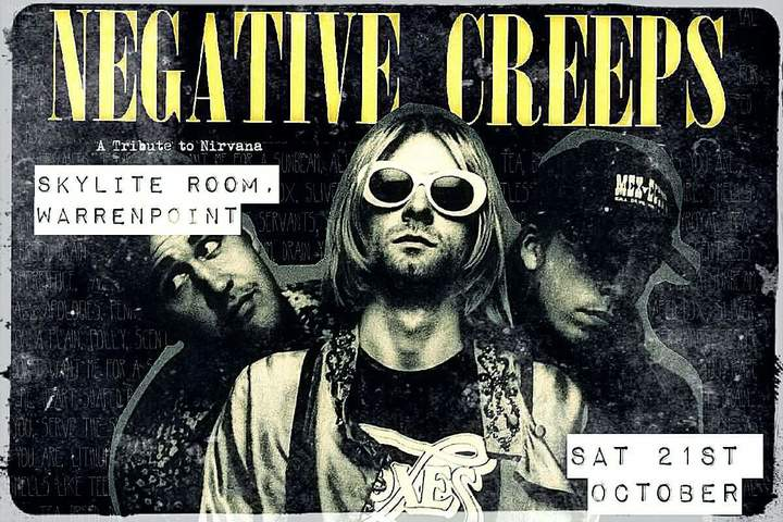Negative Creeps @ Skylite Room - Warrenpoint, United Kingdom Of Great Britain And Northern Ireland