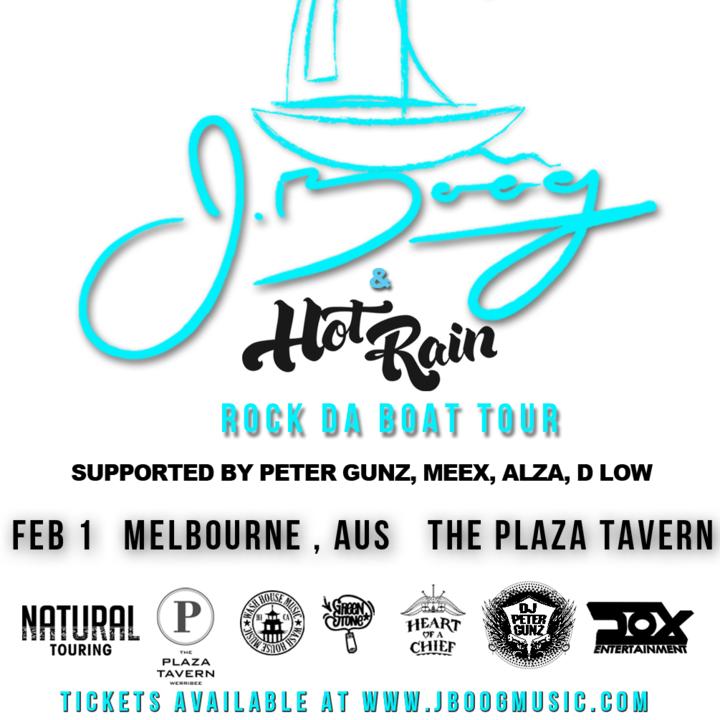 J Boog @ The Plaza Tavern - Melbourne, Australia