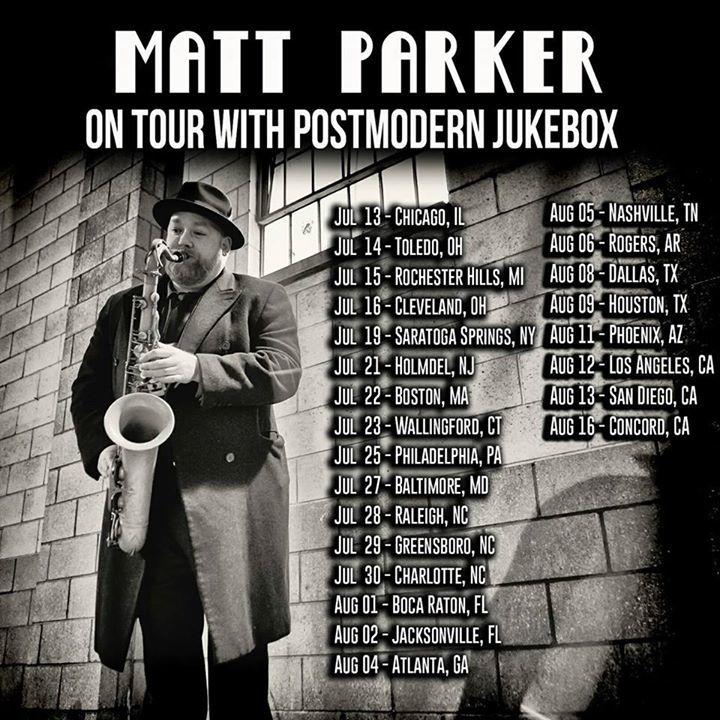 Matt Parker Music Tour Dates