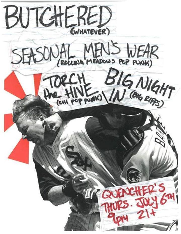 Seasonal Men's Wear Tour Dates