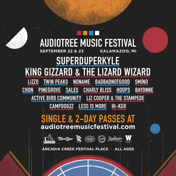 Audiotree Music Festival @ Arcadia Creek Festival Place - Kalamazoo, MI