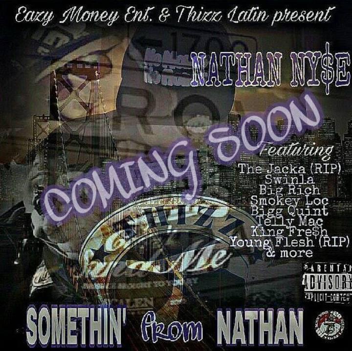 Nathan NY$E aka Ny$eberg SLIM Tour Dates