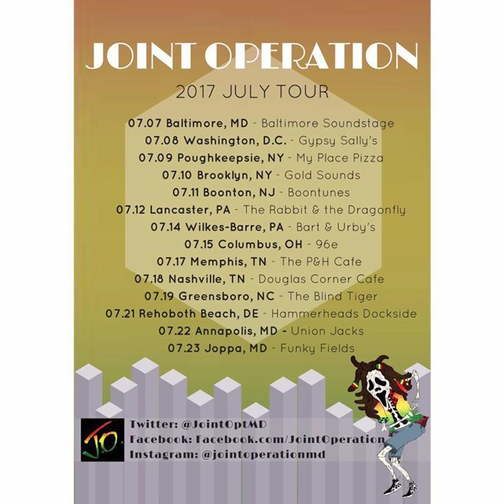 Joint Operation Tour Dates