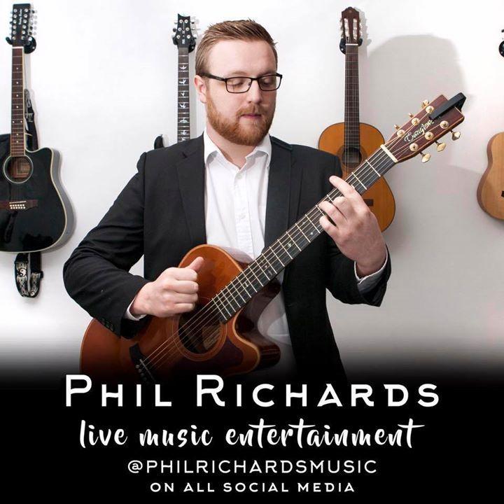 Phil Richards Music Tour Dates