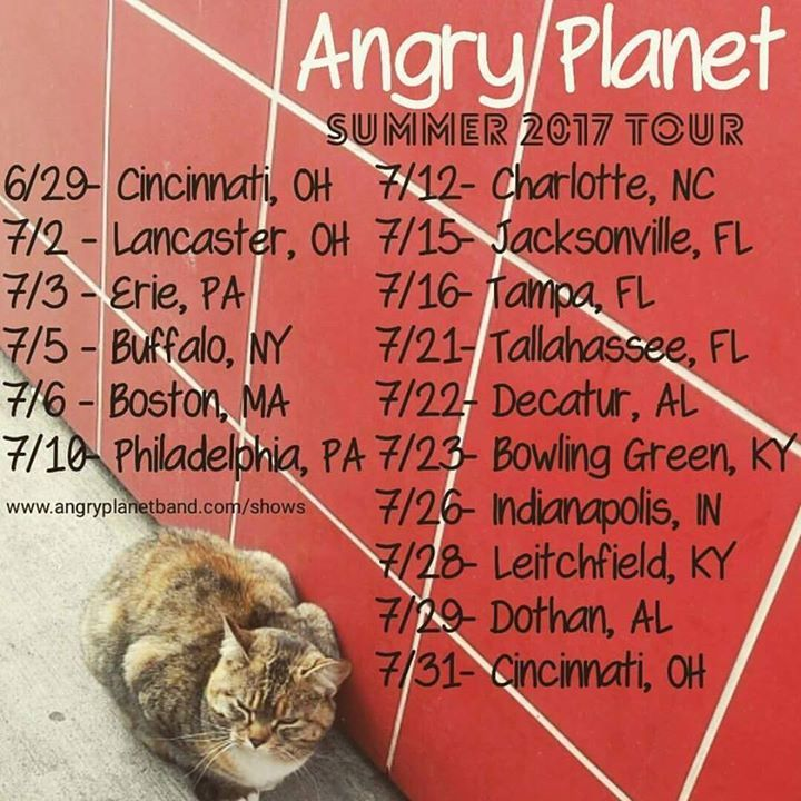 Angry Planet Tour Dates