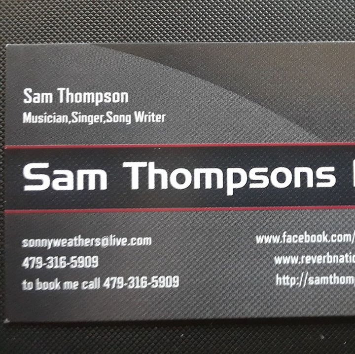 Sam Thompson Tour Dates
