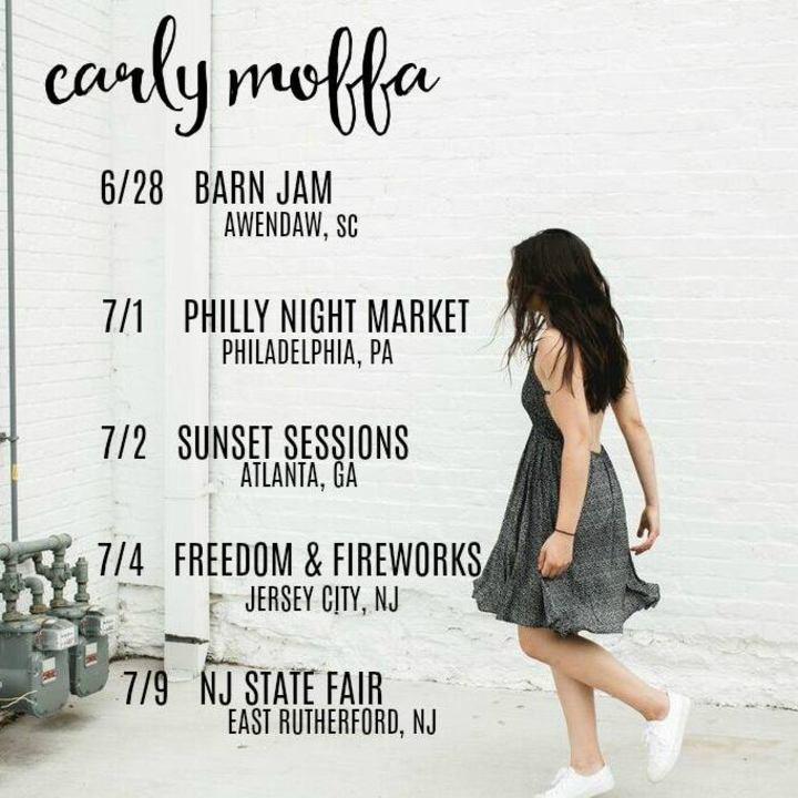 Carly moffa Tour Dates