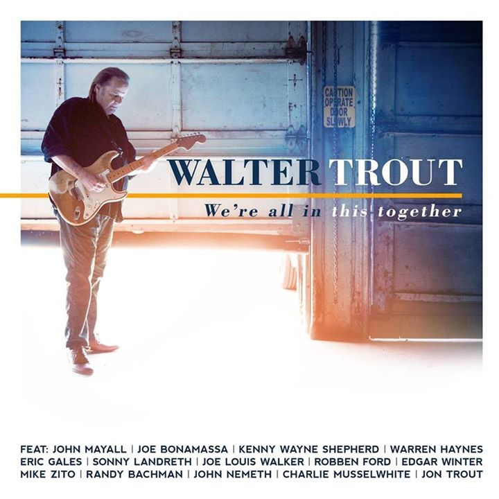 Walter Trout @ Worthing Piers Southern Pavilion - Worthing, United Kingdom
