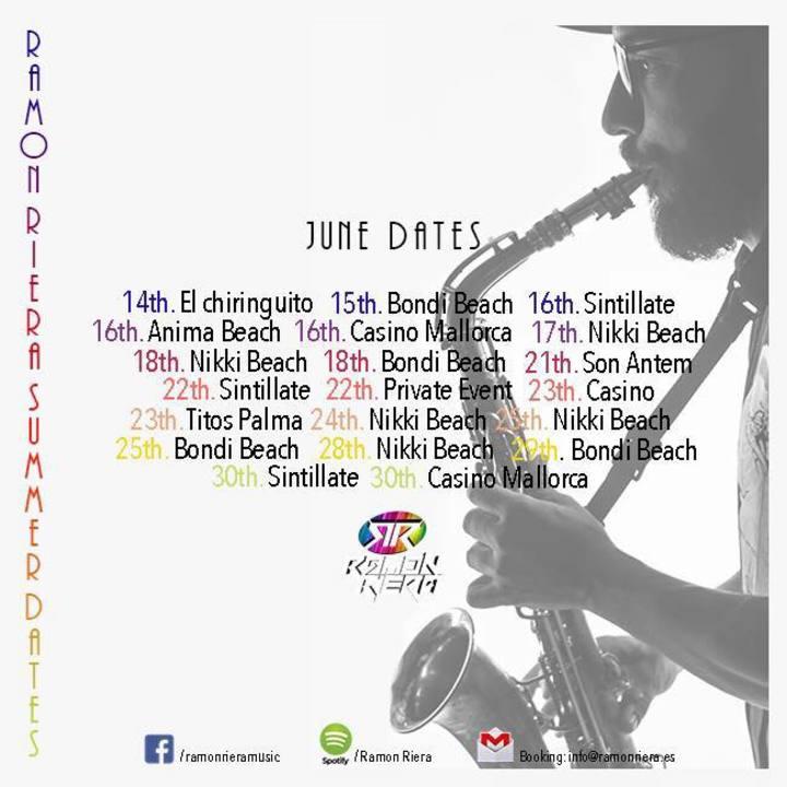 Ramon Riera Music Tour Dates