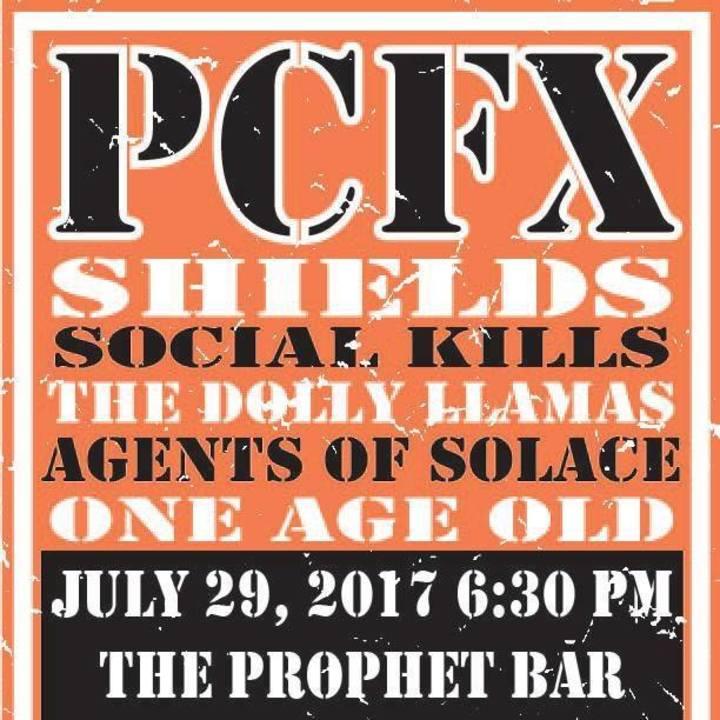 PCFX: Poster Child for Christ Tour Dates