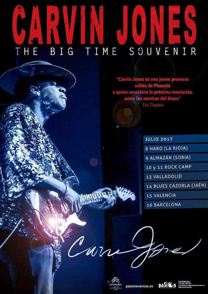 Carvin Jones @ Beaverwood - Chislehurst, United Kingdom