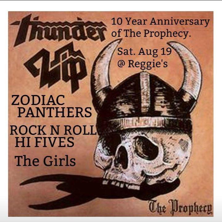 Thunderlip Tour Dates