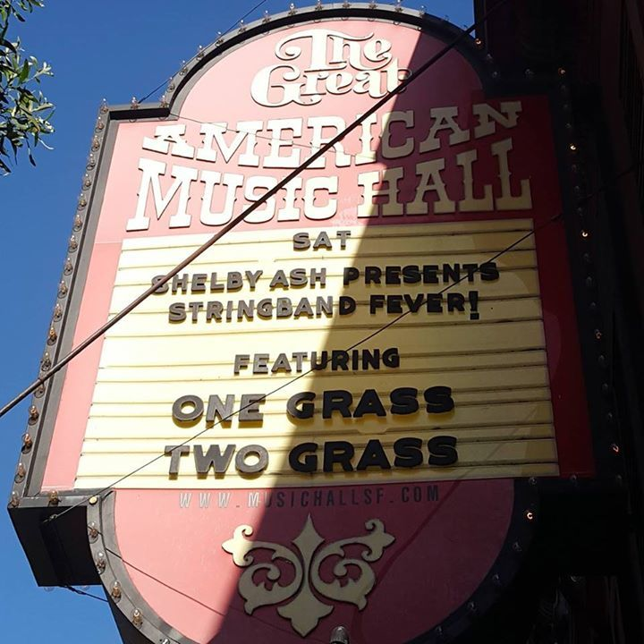 One Grass Two Grass @ The Independent - San Francisco, CA