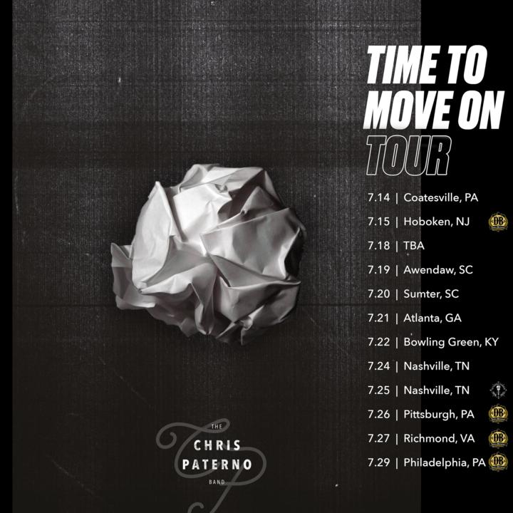 The Chris Paterno Band Tour Dates