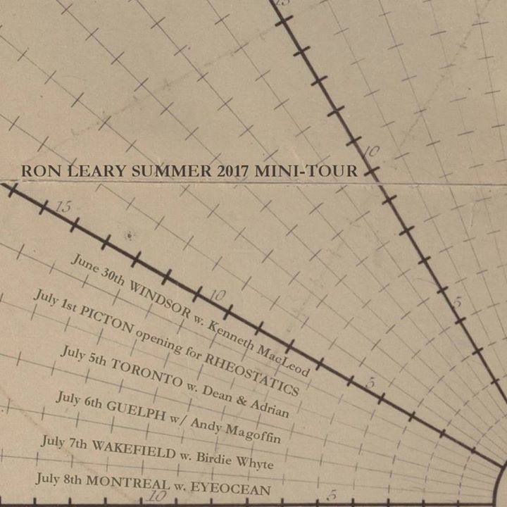 Ron Leary Tour Dates