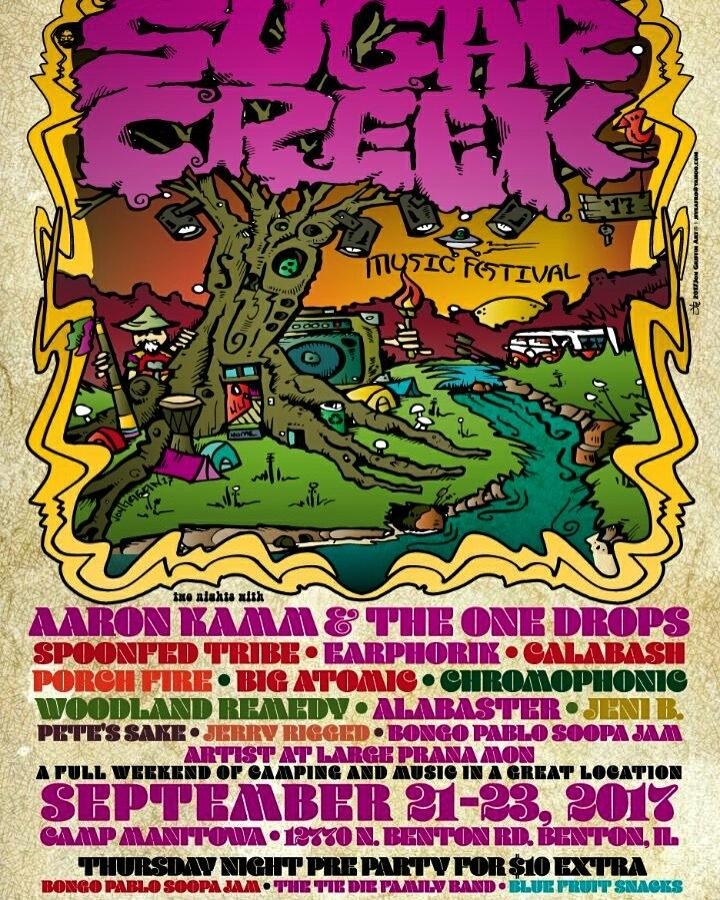Porch Fire @ Sugar Creek Music Festival - Benton, IL