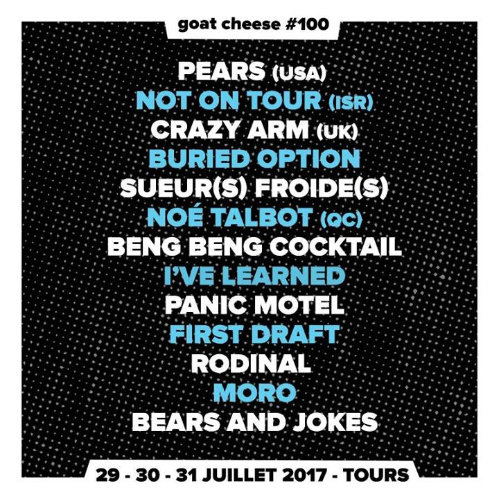 Goat Cheese Tour Dates