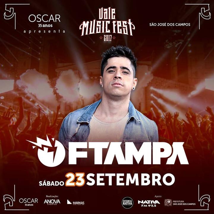 FTAMPA @ Vale Music Fest - São José Dos Campos, Brazil