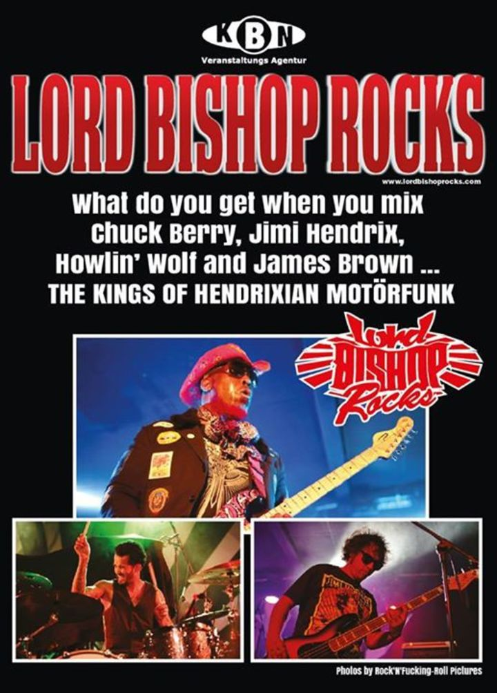 Lord Bishop Rocks @ HOBE MUSIC HALL  - Pardubice, Czech Republic