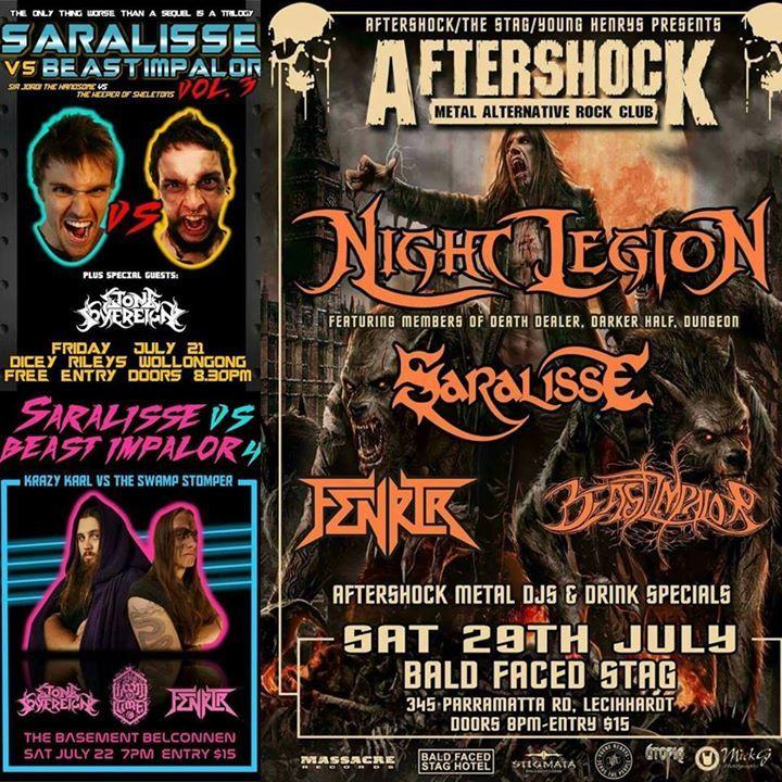 Beast Impalor Tour Dates