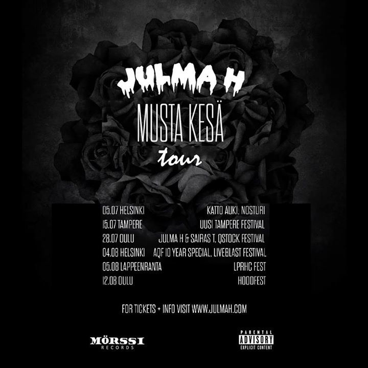 JULMA H Tour Dates
