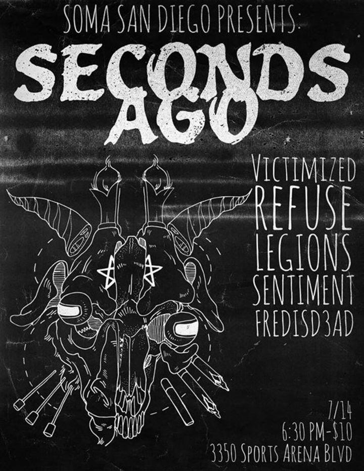 Seconds Ago Tour Dates