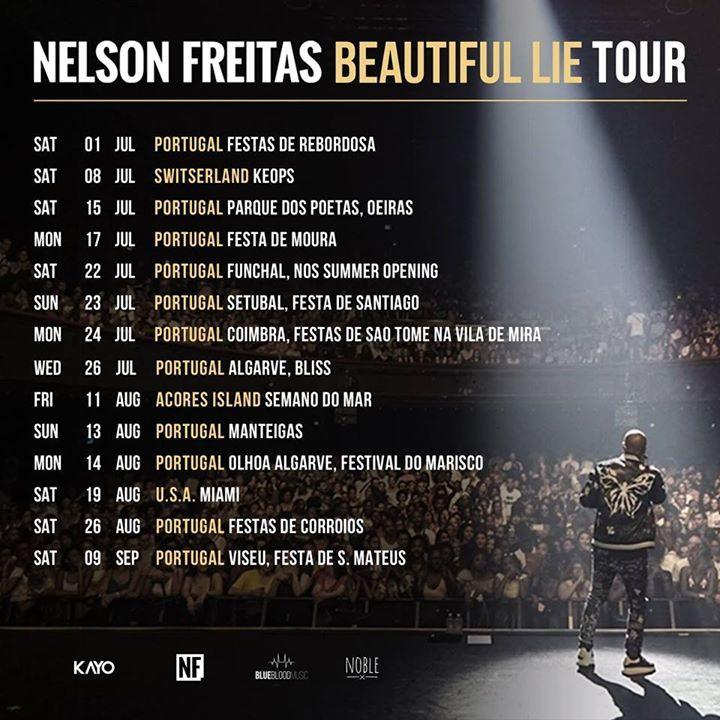 Nelson Freitas ( Mr Magic ) Tour Dates