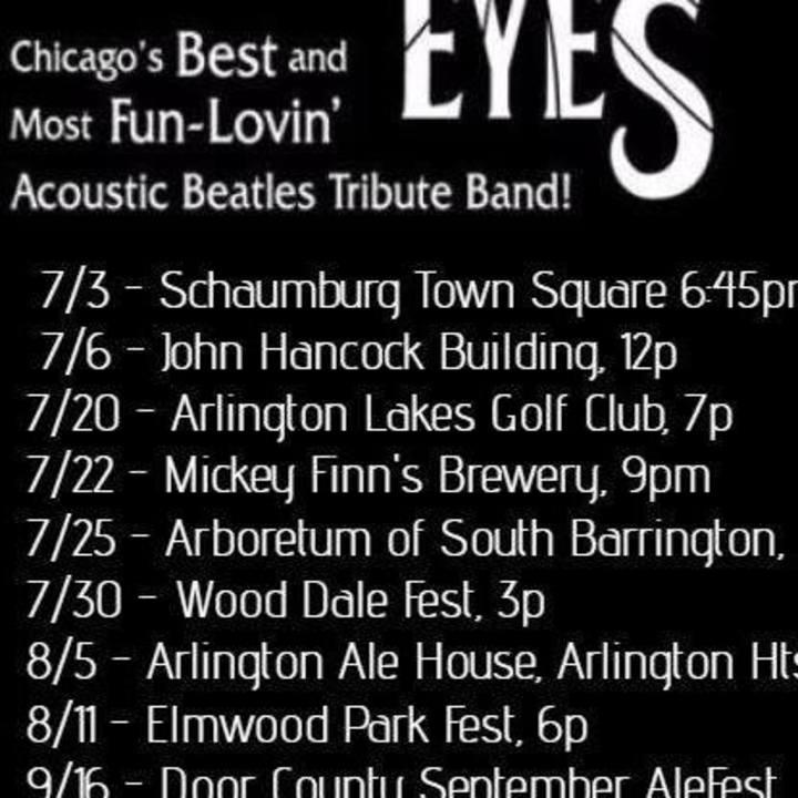 Kaleidoscope Eyes - Acoustic Beatles Tribute Tour Dates