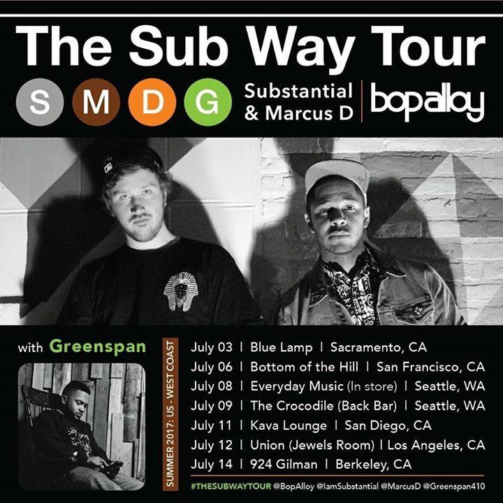 Substantial Tour Dates