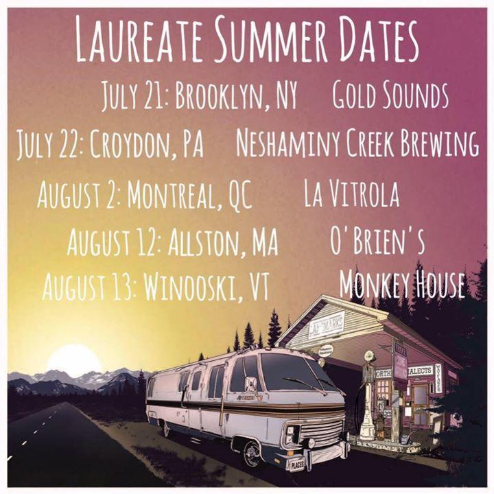 Laureate Tour Dates