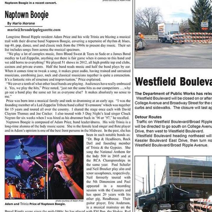Naptown Boogie Tour Dates