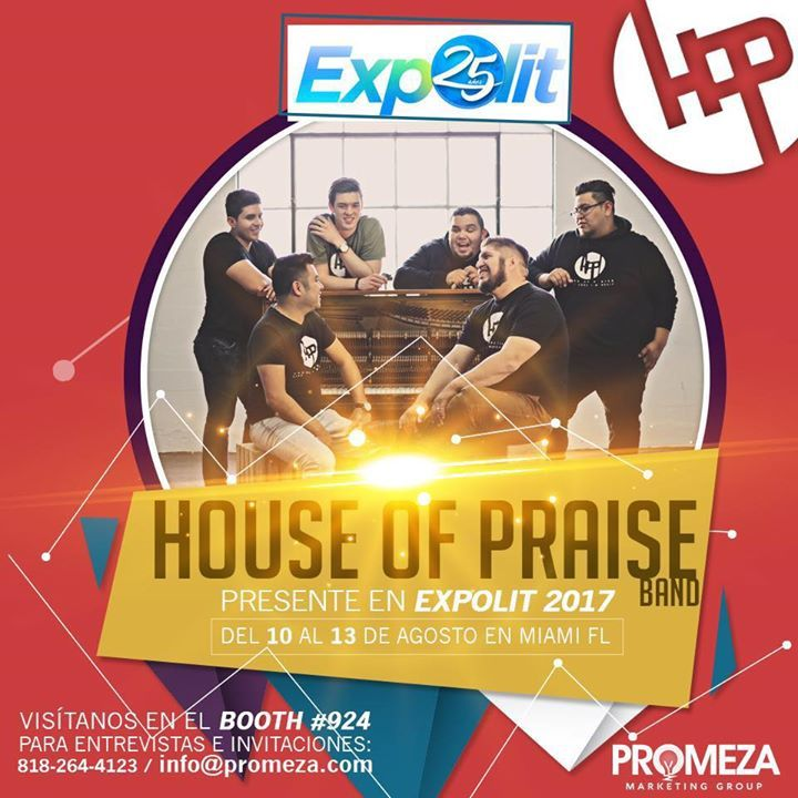 House Of Praise Band Tour Dates