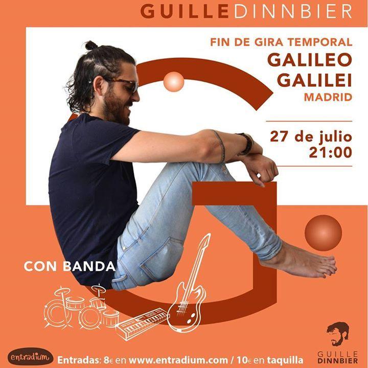Guille Dinnbier @ SALA SIROCCO - Madrid, Spain