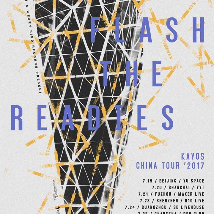 Flash the Readies Tour Dates