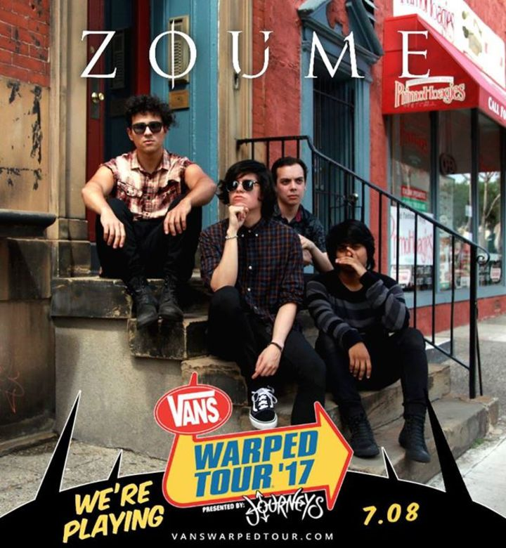 Zoúme Tour Dates