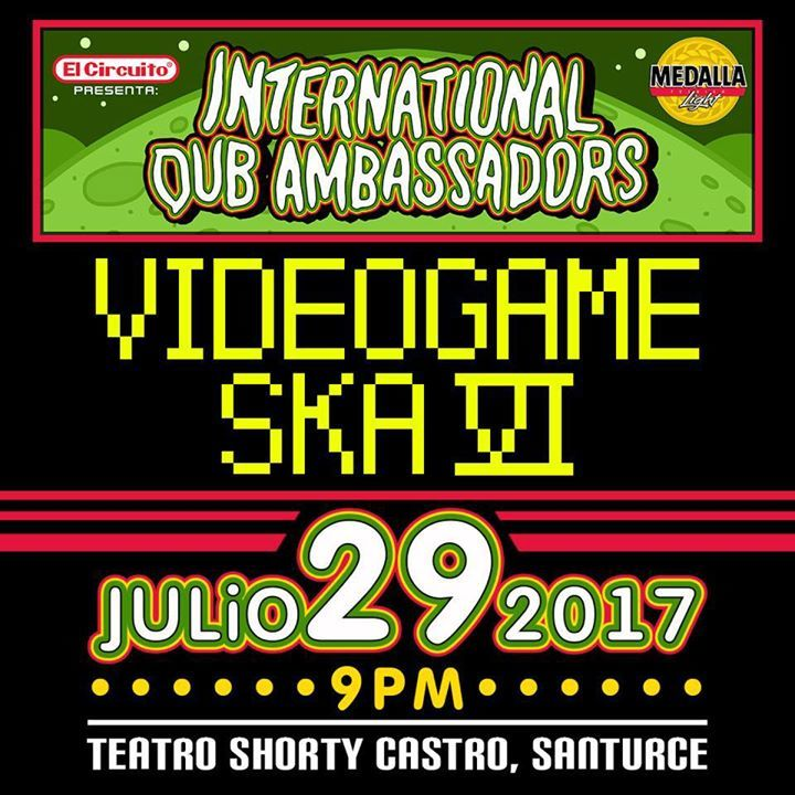 International Dub Ambassadors Tour Dates