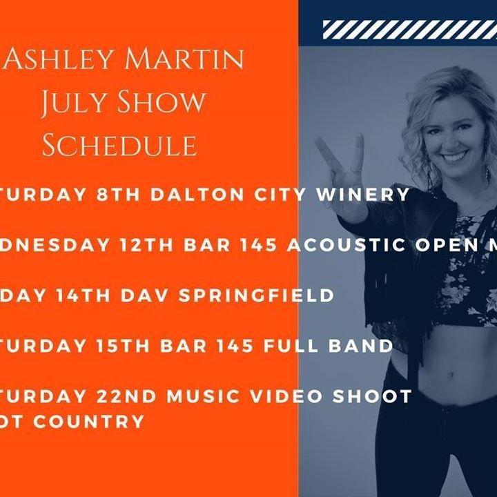 Ashley Martin Tour Dates