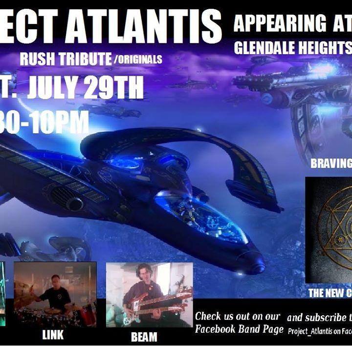 Project Atlantis Tour Dates