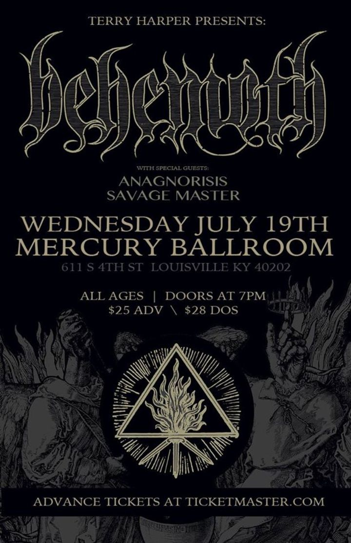 Anagnorisis Tour Dates