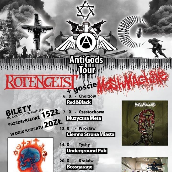 ROTENGEIST Tour Dates