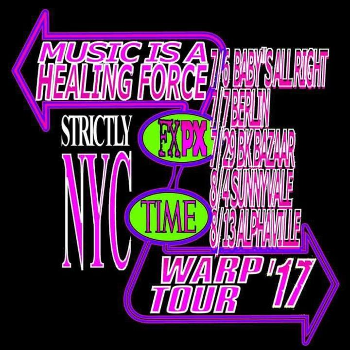 Future Punx @ Alphaville - Brooklyn, NY