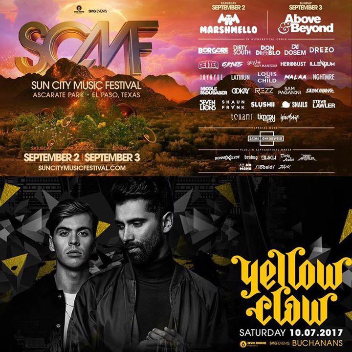 SMG EVENTS Tour Dates